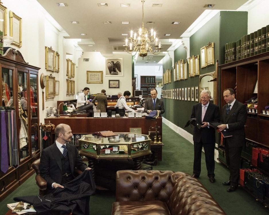 Henry Poole & Co - Savile Row Bespoke