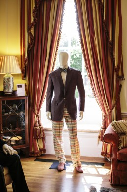 Event Party : WASHINGTON, DC - MAY 14: An exhibition of clothing from Savile Row at the Savile Row Bespoke and America at the British Ambassador's Residence on May 14, 2015 in Washington, DC. (Photo by Greg Kahn/Getty Images for The British Embassy)
