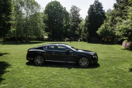 Event Party : WASHINGTON, DC - MAY 14: A Bently parked out side during Savile Row Bespoke and America at the British Ambassador's Residence on May 14, 2015 in Washington, DC. (Photo by Greg Kahn/Getty Images for The British Embassy)