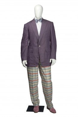 Clothing Shots : Savile Row and America- Chester Barrie- Ralph Lauren suit