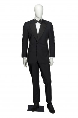 Clothing Shots : Savile Row and America- Edward Sexton- Andy Warhol (replica) dinner suit