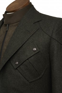 Clothing Shots : Savile Row and America- Gieves&Hawkes x Bentley- Driving Jacket