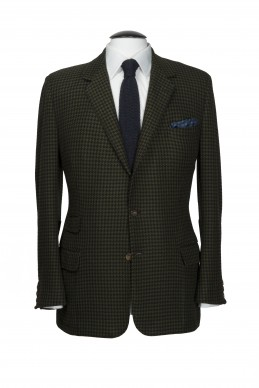 Clothing Shots : Savile Row and America- Huntsman- Gregory Peck - Houndstooth Cashmere sports