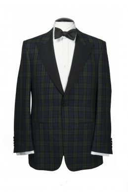 Clothing Shots : Savile Row and America- Lutwyche- Green check jacket Tartan