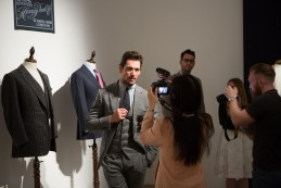 The Event : David Gandy at Savile Row: Inside Out