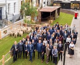 Savile Row Bespoke apprentices