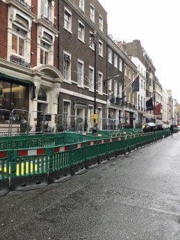 Savile Row Work in Progress